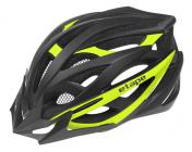 Cyklistická helma Etape Magnum černo/žlutá fluo mat 2021