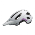 Juniorská cyklistická helma Bell Nomad jr. mat white/purple 2021