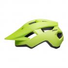 Juniorská cyklistická helma Bell Spark jr Mat bright green/black 2021