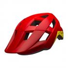 Juniorská cyklistická helma Bell Spark jr Mat/Glos red/hi-viz 2021