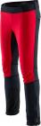 Dětské běžecké kalhoty Silvini Melito 2021/22 černo-červené