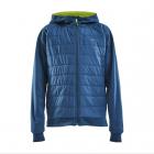 Dětská bunda Craft Adv Insulate hood junior 1909808-349000 modrá 2021/22