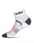 Cyklistické ponožky   Kalas ACC Race SILVER | bílé