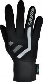 Běžecké rukavice Silvini TIBER UA1125-0800 černé