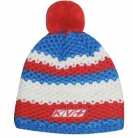 Čepice KV+ St. MORITZ hat RED red/blue/white