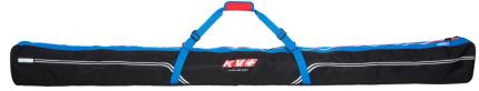 Vak na běžecké lyže KV+ Ski bag 1/3 páry 208cm modro černý 2017/18