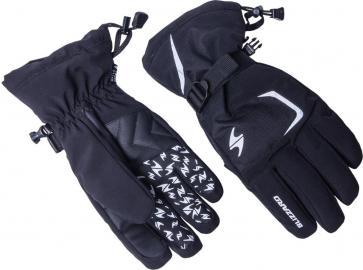 Sjezdové rukavice Blizzard Reflex 2017/18 black/silver