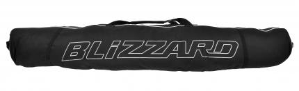 Vak na sjezdové lyže Blizzard ski bag Premium na 2 páry, 160-190cm black/silver