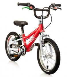 Dětské jízdní kolo Woom 14 červené