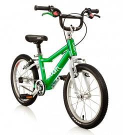 Dětské jízdní kolo Woom 16 zelené