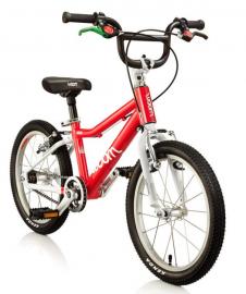 Dětské jízdní kolo Woom 16 červené