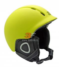 Lyžařská helma 3F Vision Peak - zelená 2017/18