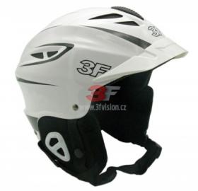 Lyžařská helma 3F Vision Bound 7103 - bílá