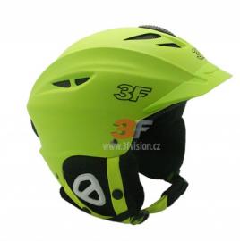 Lyžařská helma 3F Vision Bound 7107 - zelená
