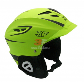 Lyžařská helma 3F Vision Bound 7109 - zelená