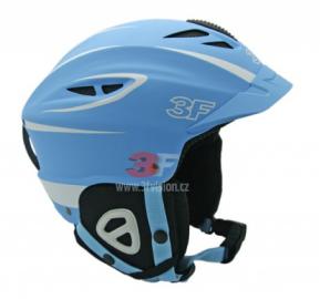 Lyžařská helma 3F Vision Bound 7104 - modrá