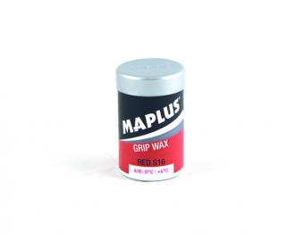 Stoupací vosk na běžecké lyže Maplus S16 červený 0 až +4°C 45g