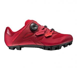 Tretry - boty na kolo MTB Mavic Sequence XC Elite červené