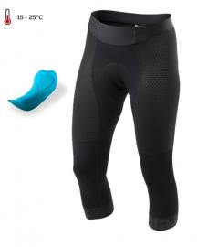 Cyklistické kalhoty dámské Kalas golfky pure černé 3132-921