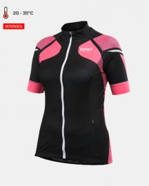 Cyklistický dres dámský Kalas Women Titan X8 fluo/černý 1031-066