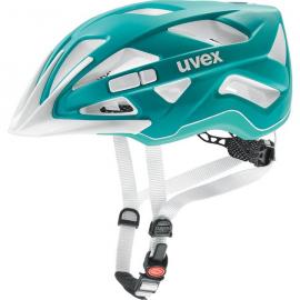 Cyklistická helma Uvex Active CC, Teal mat 2018