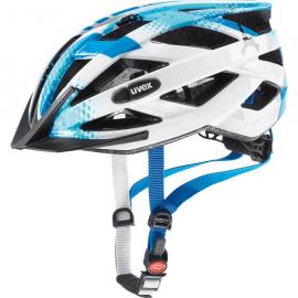 Cyklistická helma Uvex Air wing, Blue white 2018