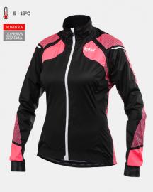 Cyklistická bunda dámská Kalas W&W Mission TITAN X8 fluo/černá 2044-076