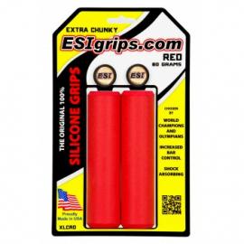 Grips ESIgrips extra chunky - červené