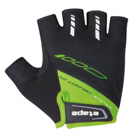 Cyklistické rukavice Etape Winner zelené 1604118