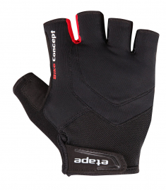 Cyklistické rukavice Etape Supra černé 1703710