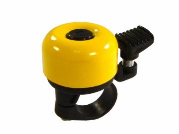 Zvonek na kolo žlutý