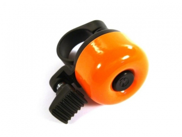 zvonek na kolo oranžový