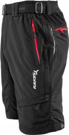 Cyklistické kalhoty Silvini MTB RANGO MP373 volné černé pánsk