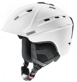 Lyžařská helma Uvex P2US, bílá mat 2018/19