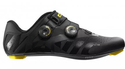 Tretry - boty na silniční kolo Mavic Cosmic pro Black/yellow Mavic 402063 2019