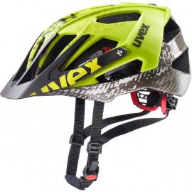 Cyklistická helma Uvex quatro, dirt neon yellow 2019