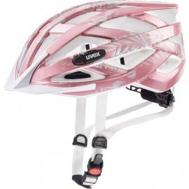 Cyklistická helma Uvex Air wing, rose white 2019