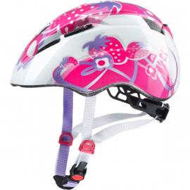 Dětská cyklistická helma Uvex Kid 2, pink strawberry 2019