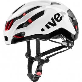 Cyklistická helma Uvex race 9, white 2019