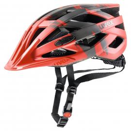Cyklistická helma Uvex I-VO CC red-dark silver mat 2019
