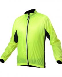 Dětská cyklistická větrovka Kalas větrovka 12 neon junior 2255-006X