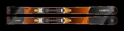 Sjezdové lyže Lusti CWR 84 + vázání VIST VSP 412 + deska Speedcom, 2019/20
