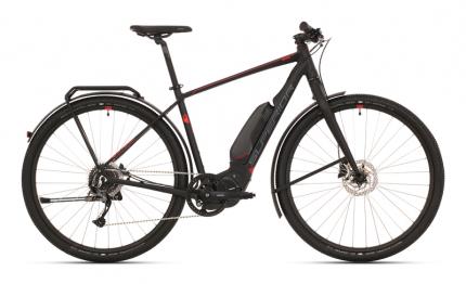 Elektrokolo eRX 630 Touring MATTE BLACK/DARK SILVER/RED 2020