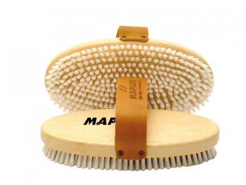 Kartáč na lyže Maplus MTO122 měkký nylonový kartáč oválný
