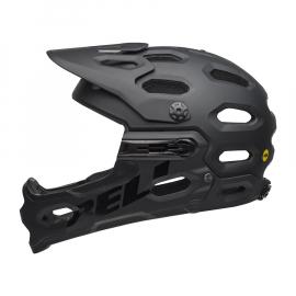 Cyklistická enduro helma Bell Super 3R MIPS mat black 2020