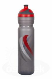 Cyklistická lahev R&B Zdravá láhev 1,0L červená