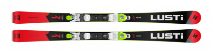 Sjezdové lyže Lusti PC 71 + vázání VIST VSP410 + deska Speedcom 2020/21