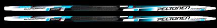 Běžecké lyže Peltonen nanogrip Facile modré + vázání Rottefella basic černé 2018