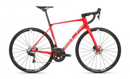 Silniční kolo Superior X-road team elite Red/chrome 2021