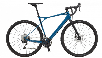 Gravel kolo GT grade Carbon elite blu 2021